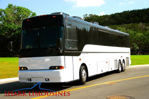 GREAT WHITE Large Party Bus