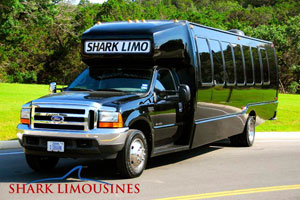 Sand Shark Limo Bus